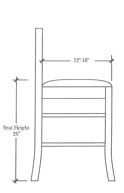 Counter-height